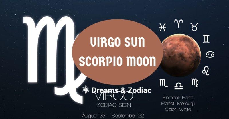 virgo sun scorpio moon