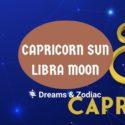 capricorn sun libra moon