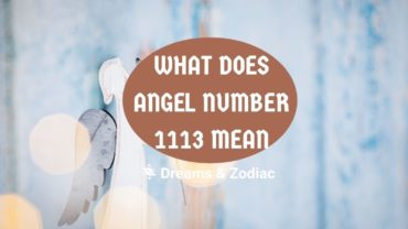 what does angel number 1113 mean