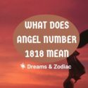 what does angel number 1818 mean