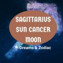 sagittarius sun cancer moon