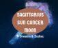 sagittarius sun cancer moon