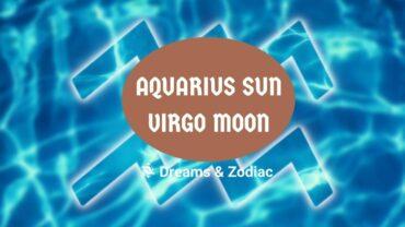 aquarius sun virgo moon