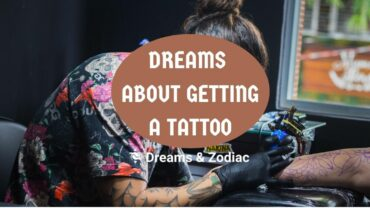 dream about getting a tattoo