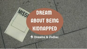 dream about being kidnapped