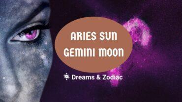 aries sun gemini moon