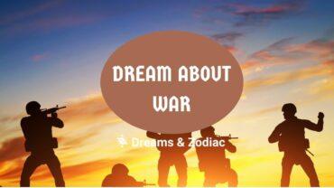 dream about war
