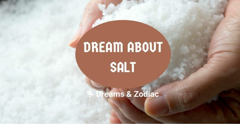 dream about salt