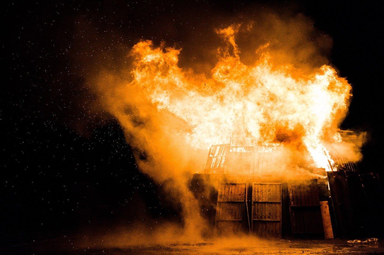 Dream about surviving an explosion