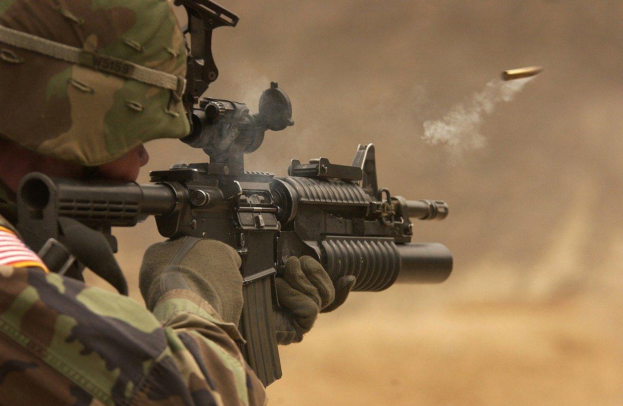 Dream about being in war zone
