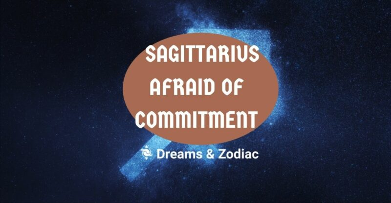 why are sagittarius so afraid of commitment