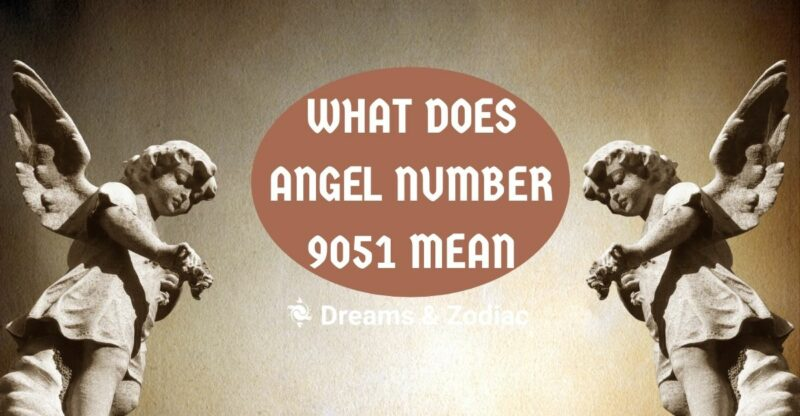 what does angel number 9051 stand for