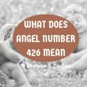 what does angel number 426 mean