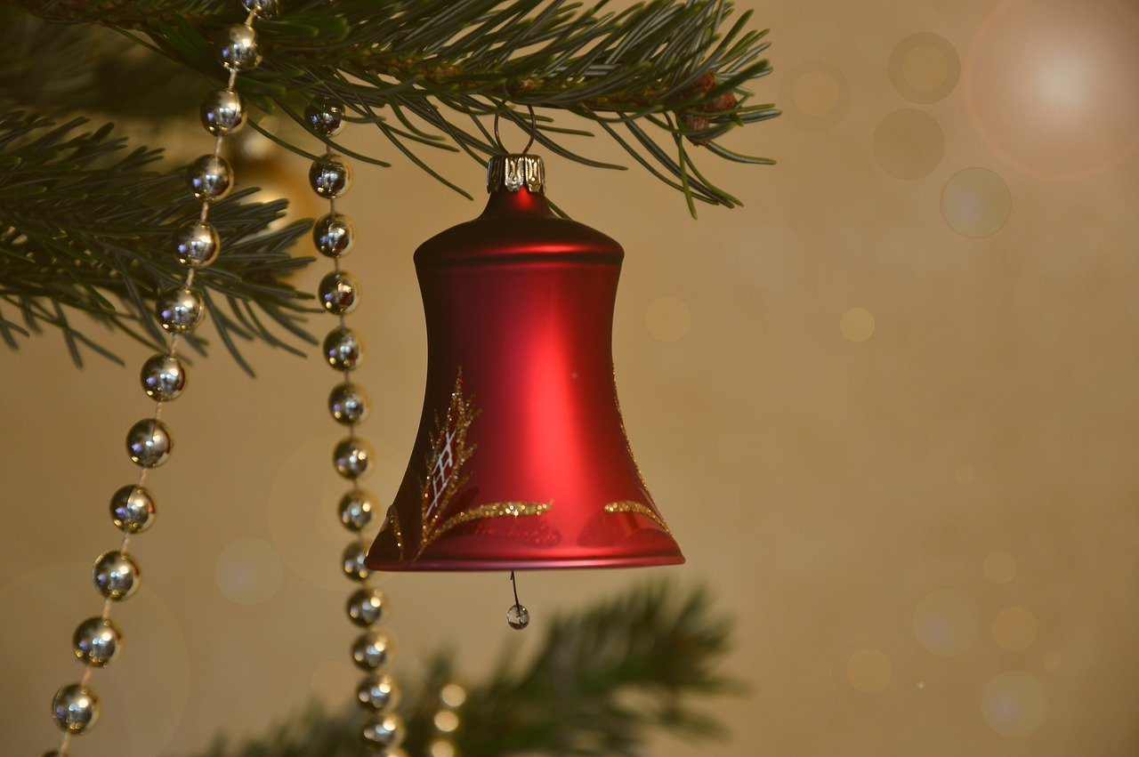 What do bells symbolize at Christmas