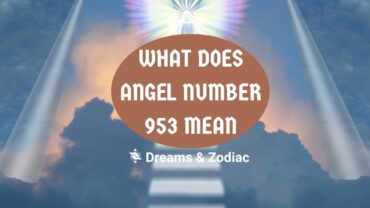 what does angel number 953 mean